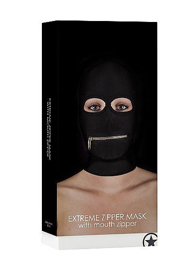 Маска с молнией Extreme Zipper Mask with Mouth Zipper