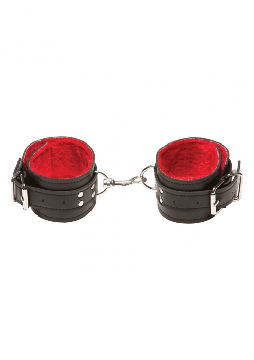 Поножи X-play passion fur ancle cuffs red